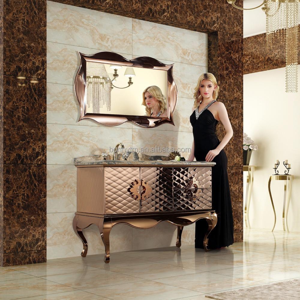 Bonnytm bn 8504 klassieke hotel weelderig ontwerp bruin kleurrijke ...