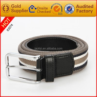 Fashion accessories new design fabric belts for men wedding dresses 2015