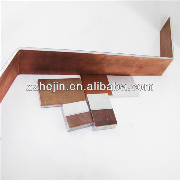 Copper and Aluminum Bimetal with double copper or one side copper