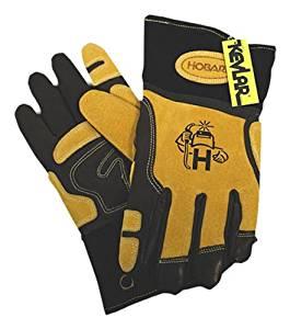 Hobart 770709 Ultimate-Fit Leather Welding Gloves, Medium