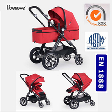 Newest Design Good Quality Adult Heated Baby Stroller with Car Seat