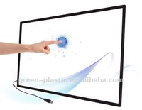 High sensor multi point ir touch screes,60 inch ir touch frame screen overlay