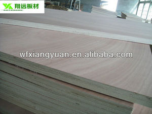 furniture grade mahogany veneer plywood exported to Africa