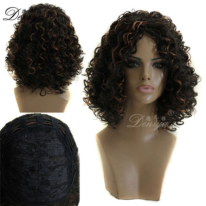 Wig for african woman African american afro wig for south africa
