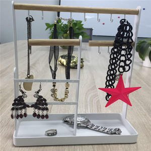 houseware simple fashion jewelry display stand, hanger earrings, bracelets necklaces organizer displaystand