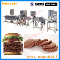 Automatic meat patty machine/commercial hamburger patty recipe/hamburger patty making machine manufacturers