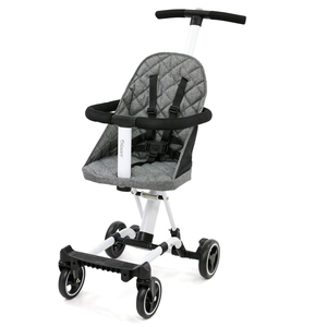 New Design Baby Artifact Easily Children's Trolley 4 Wheels Lightweight baby kids Outdoor Cart Stroller