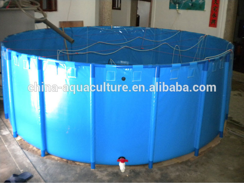 1800 Gallon Collapsible Folding Water ContainerFolding Fish