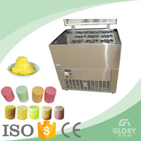 New Product For Dessert Vertical 9 Barrels Snow Blcok Ice Making Machine