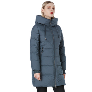 MIEGOFCE Autumn Winter New Jackets Lady Casual Padded Coat Long Quilted Female Oversize Outerwear Foldable Down Jacket Women
