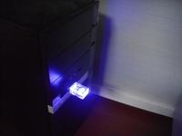 Colorful Led Light Crystal Usb Flash Drive 3d Logo Laser Engraving ...