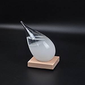 Christmas Gift Weather Forecast Bottle Storm Glass Creative Novelty GG-33
