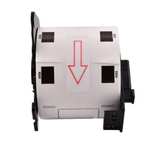 PUTY DK 11202 Thermal Paper Die-Cut Label Black on White 62mmx100mm Label DK-11202 Compatible Label Printer