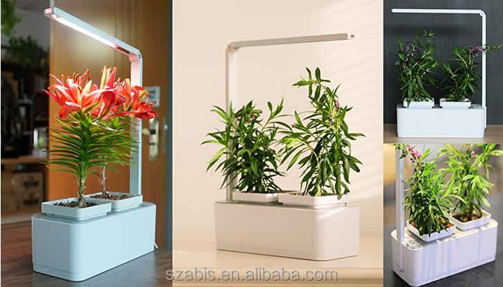 Aibis jardin int rieur kit avec syst me de culture for Kit culture interieur