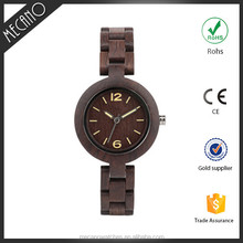 Minimalist Western Wood Watch Luminous Hands Thin Watch China Factory Brand Your Own Wacthes