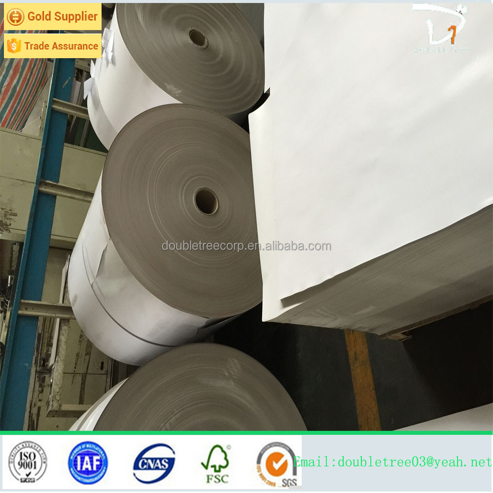 Offset Printing Compatible Printing and Duplex Board Paper Type a grade white coated duplex board grey back
