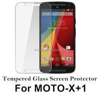 Moto X+1 Tempered Glass Screen Protector with 9H 0.3mm 2.5D Anti-scratch,anti-fingerprint coating