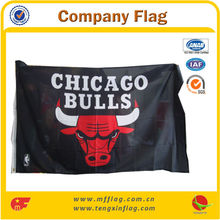The Chicago Bulls To Team Company Flag