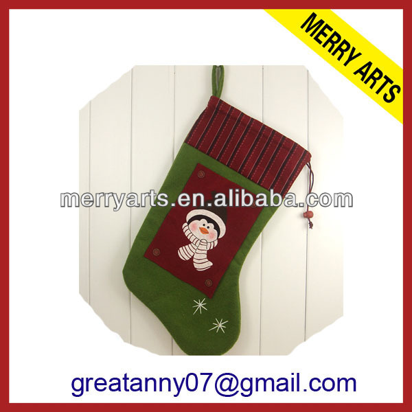 2013 hot new sale large christmas stocking holder for christmas ornations