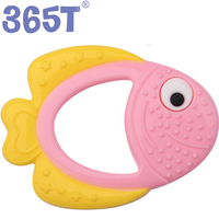 Hot Selling Food Grade Animal Silicone Mitten Teething Glove Baby Teether Toy