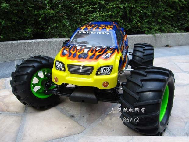 1/8 Scale 4WD HSP Brushless Monster Truck With Aluminum Chassis