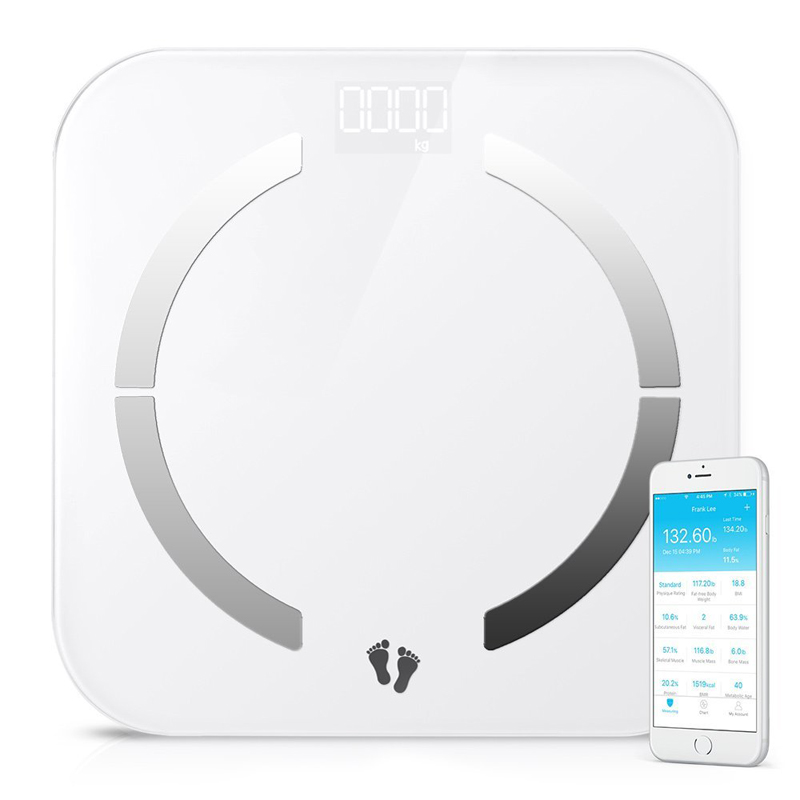 New design 180kg precision quality digital personal body weighing scale bluetooth smart original xiaomi scale with app