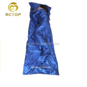 Waterproof promotional hotsale custom beach sleeping bag