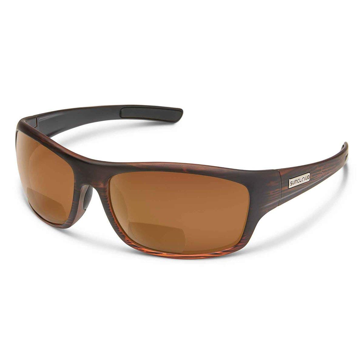 826d3d442d8 Get Quotations · Suncloud Optics Cover Readers Polarized Medium Fit  Sunglasses 2.0 (Burnished Brown