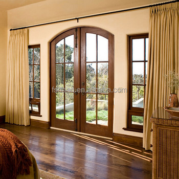 Arched luxury main double door designs for houses buy for Main door arch designs