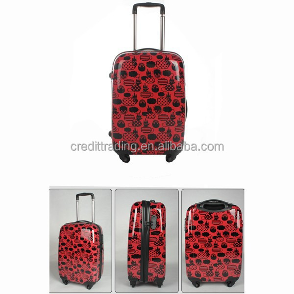 lightweight high quality abs trolley luggage/case