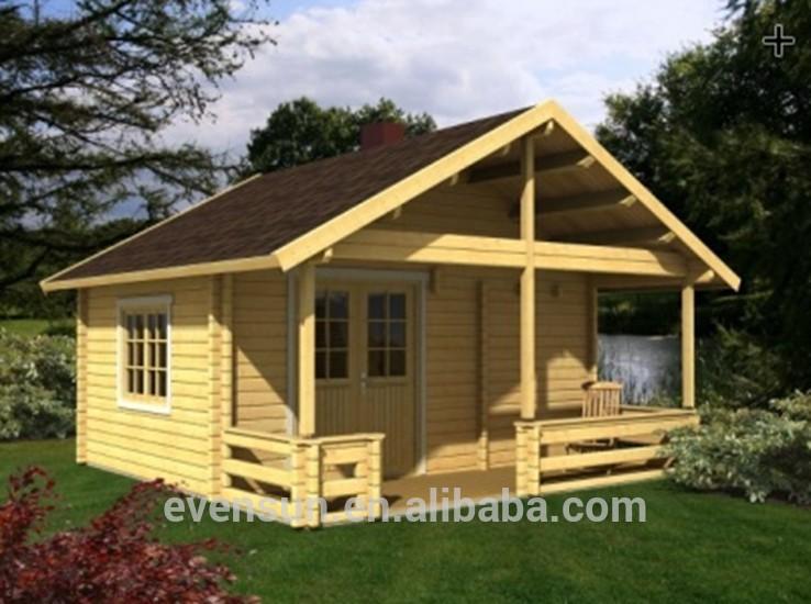 Pays d 39 am rique petit c t maison pr fabriqu e en bois for Petite maison prefabriquee en bois