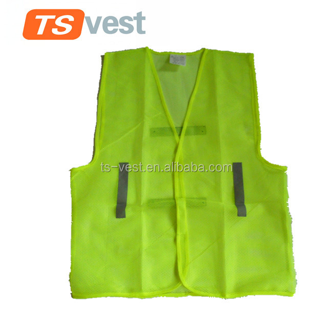 China supply traffic use safety vest / reflective vest / security jacket