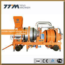 20/30t/h mobile hot asphalt drum mixing plant, mobile asphalt mixer,bitumen hot mix plant