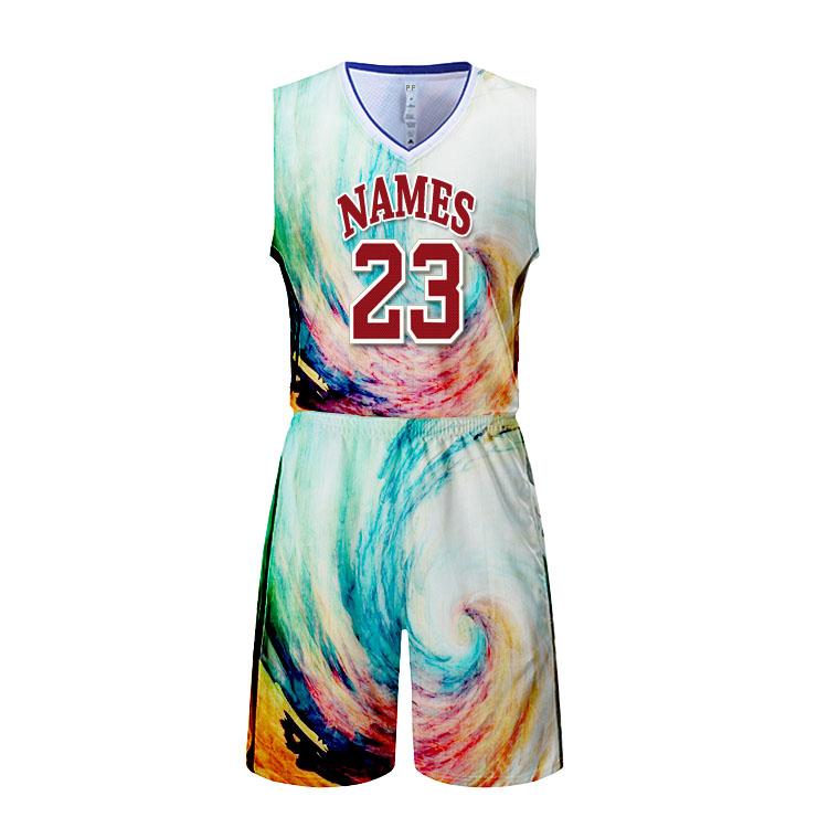 81402501f 2018 wholesale blank best basketball jersey design blue color latest  uniform 100 polyester mesh fabric shirts