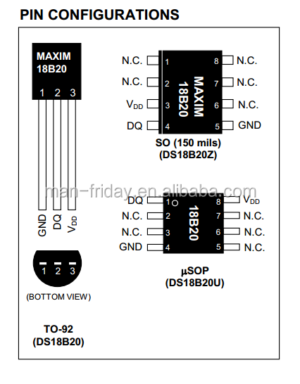 encapsulated ds18b20 temperature sensor with waterproof