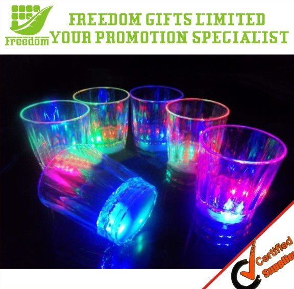 Party Favorite Printing Plastic LED Flashing Cup