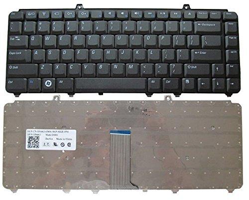GZEELE Keyboard for DELL BlACK M1330 1420 1520 1525 1330 V1500 PP25L M1410 MK750 PP26L 1521 1526 500 PP14L PP41L M 1530 Vostro 1400 PP22L 1318 1545 PP29L Inspiron 1520 Laptop Keyboard