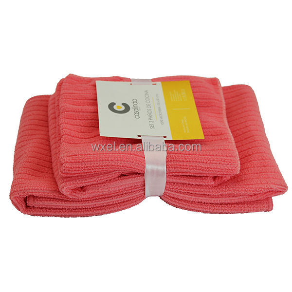 High Quality Antibacterial Microfiber Cleaning Cloths