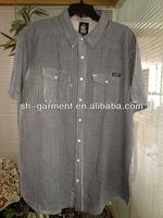 mens pigment dyed shirt V646