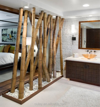 Bamboo Poles Decor Home Decorating