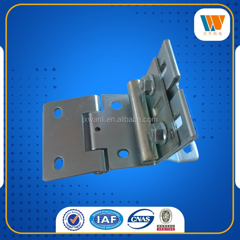Customized galvanized hinges,steel stamping parts,sheet metal parts on sales