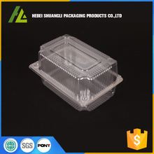 clear plastic birthday cake box blister packaging box for cake