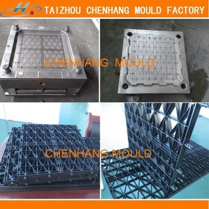 China manufacture plastic pallet mould for plasitc pallet the grid plastic tray