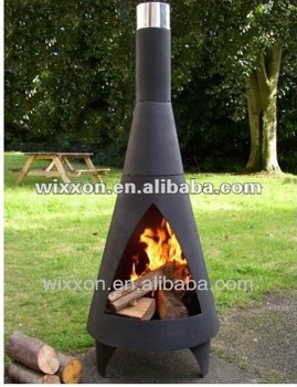 Fabulous 2014 Concrete Cast Iron Wood Burning Outdoor Fireplace Buy Cast Iron Wood Burning Chiminea Fire Pit With Chimney Garden Chimney Product On Download Free Architecture Designs Sospemadebymaigaardcom