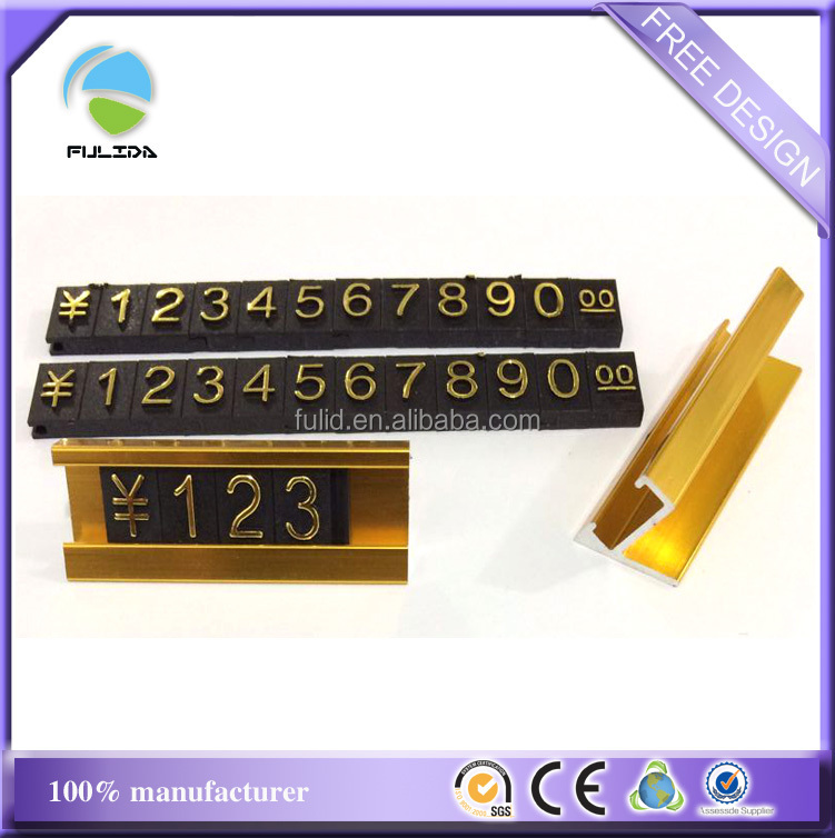 Custom Abs Plastic Combined Numbers Commodity Price Tags Signs ...