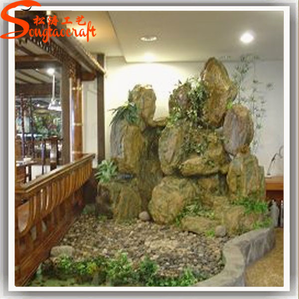 unique design indoor wall waterfall for home decoration