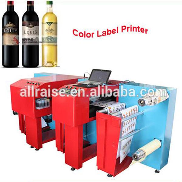 adhesive label printing machine