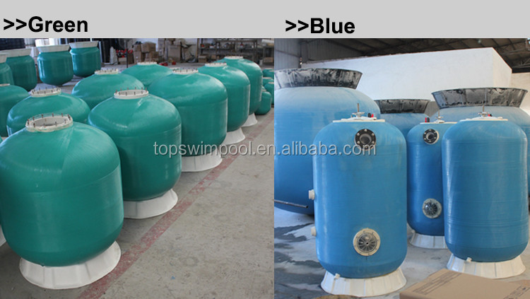Factory fiberglass swimming pool sand filter Pikes