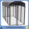 fully assembled 2 x 4 Welded Wire Modular Kennel