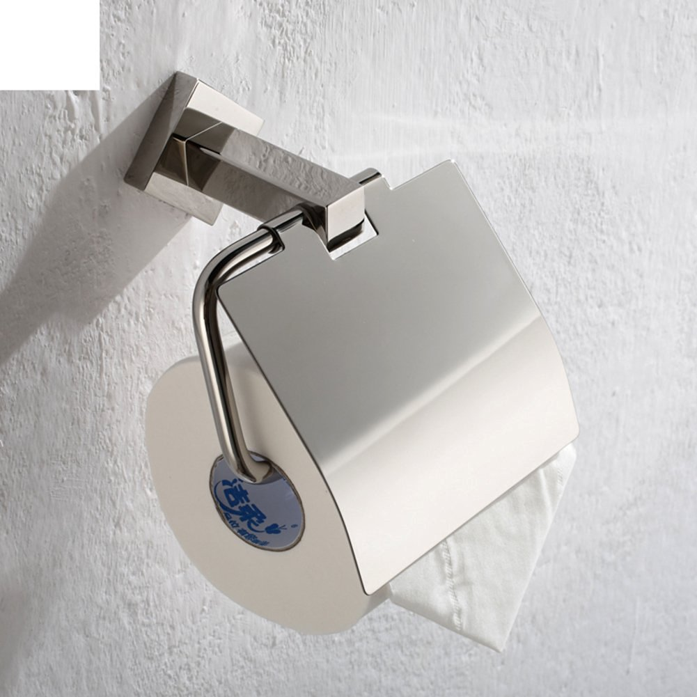 Bathroom tissue holder/Stainless steel paper holder/Waterproof paper towel rack/Toilet paper holder/Bathroom accessories
